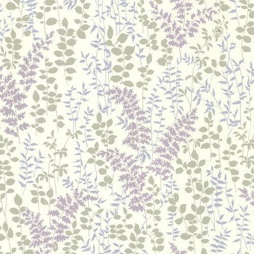 Dixon Purple Forest Leaves Wallpaper