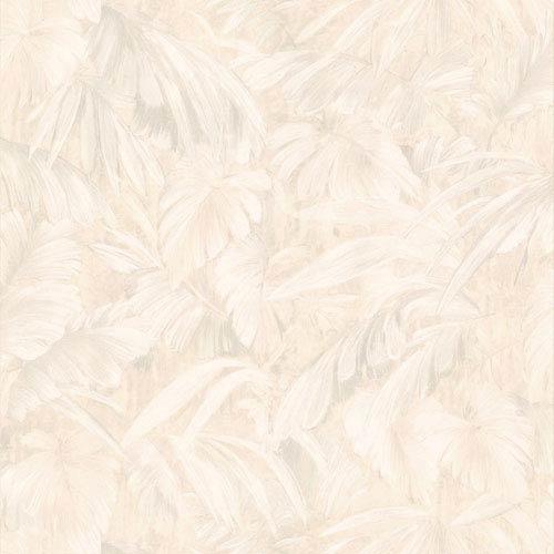 Raven Beige Palm Tree Leaf Texture Wallpaper
