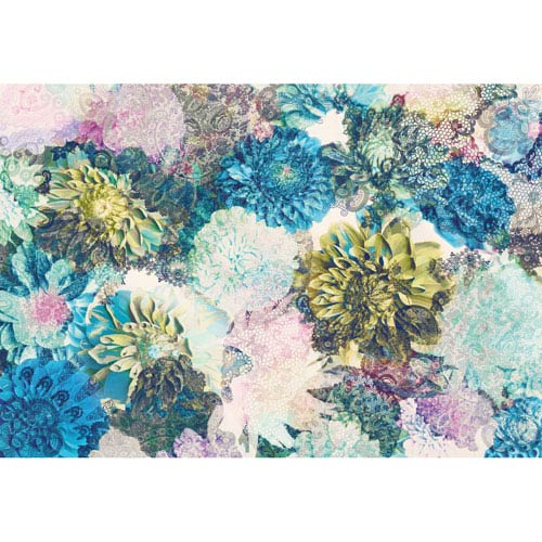 WallPops! Frisky Flowers Wall Mural