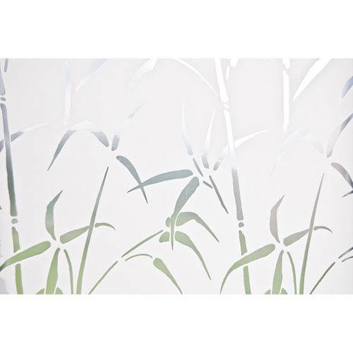 Grey Bamboo Window Privacy Film