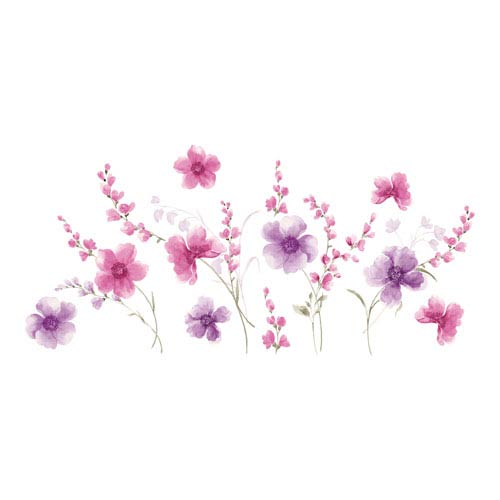 Spring Flowers Wall Decals