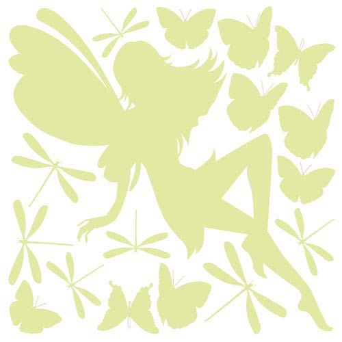 Fairy Glow In The Dark Wall Decals