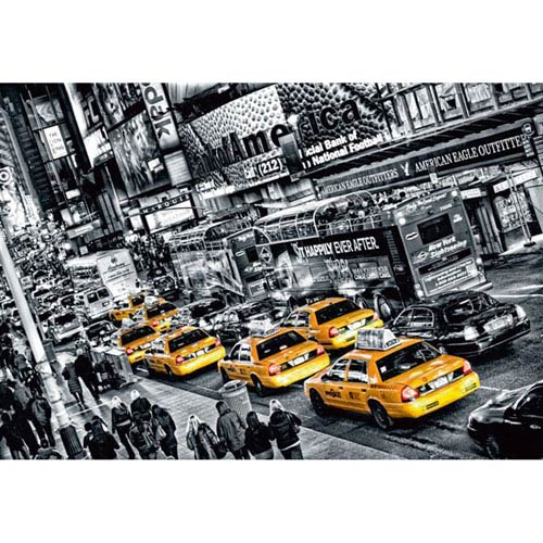 Cabs Queue Wall Mural