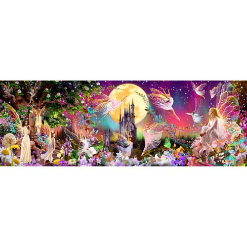 Multicolor Fairyland Wall Mural