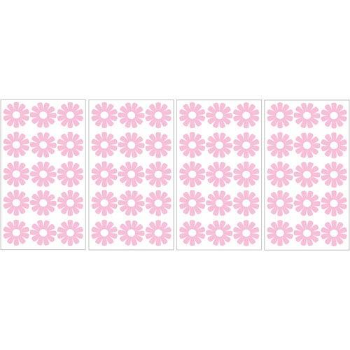WallPops! Pink Daisy MiniPops