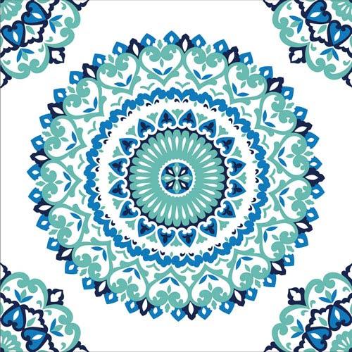 Jasmine Medallion Peel and Stick Wallpaper