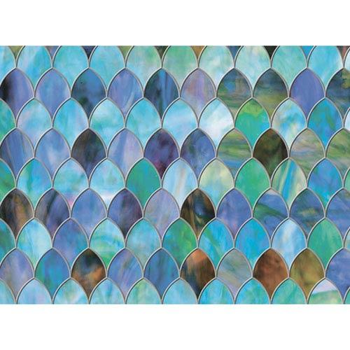 Multicolor Peacock Window Premium Film