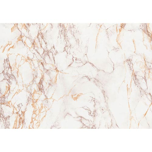 Brown and Gold Marble Adhesive Film, Set of Two
