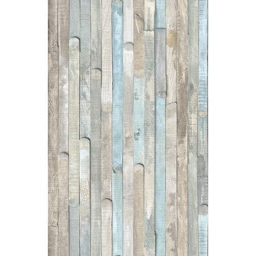 Beach Wood Adhesive Film, Set of Two