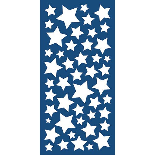Stars Glow In The Dark Wall Decals, Set of 188