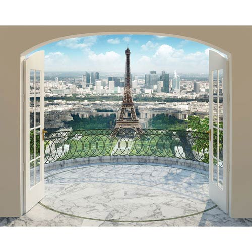 Eiffel Tower in Paris Wall Mural