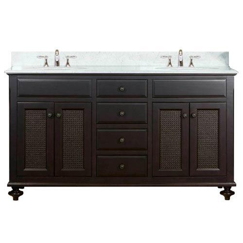 Etonnant Water Creation London Espresso Double Sink 60 Inch Bathroom Vanity