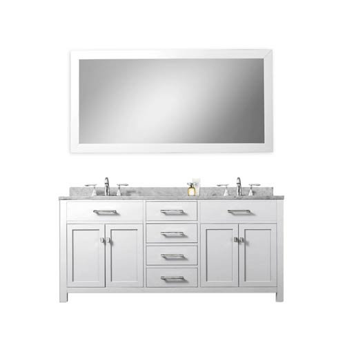 50+ 60 Inch White Framed Mirror
