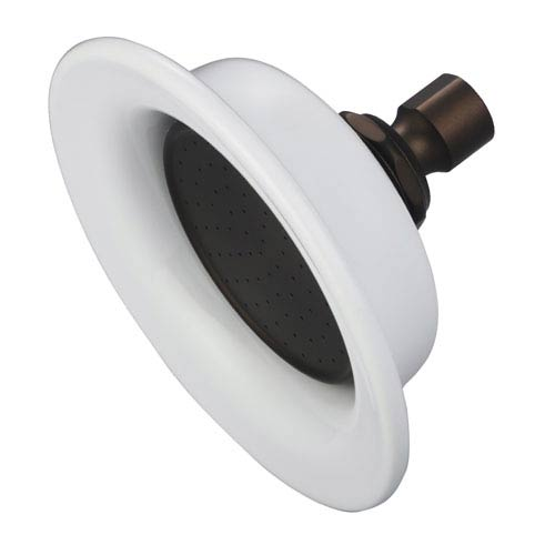 Useful Elegance Oil Rubbed Bronze with Protective Coating Luxurious Spray Sunflower Shower Head