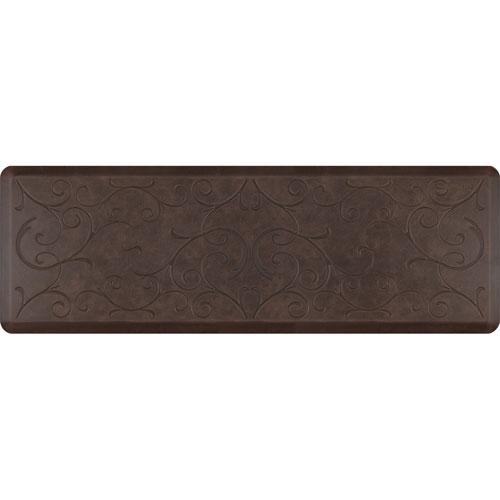 Motif Bella Antique Dark 6x2 Premium Anti-Fatigue Mat