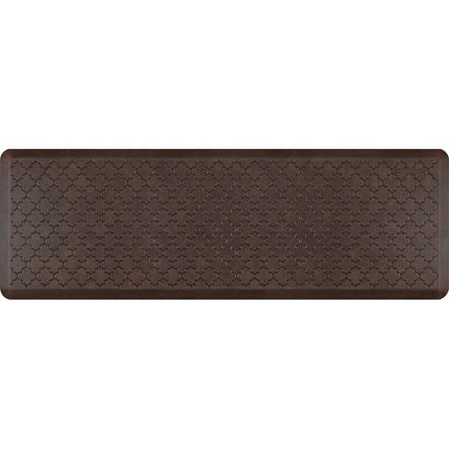 Motif Trellis Antique Dark 6x2 Premium Anti-Fatigue Mat