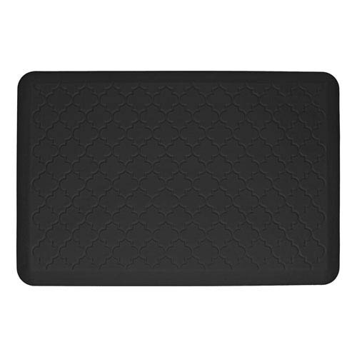 Motif Trellis Black 3x2 Premium Anti-Fatigue Mat
