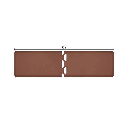 PuzzlePiece 2-Ft. R-Series Brown 7.5 Premium Anti-Fatigue Mat
