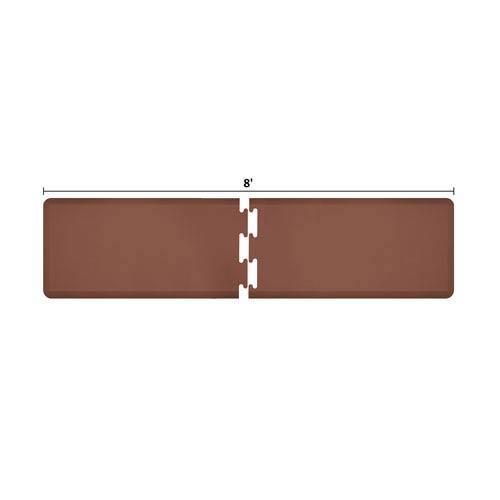 PuzzlePiece 2-Ft. R-Series Brown 8 Premium Anti-Fatigue Mat