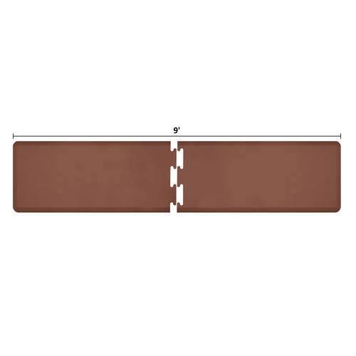 PuzzlePiece 2-Ft. R-Series Brown 9 Premium Anti-Fatigue Mat