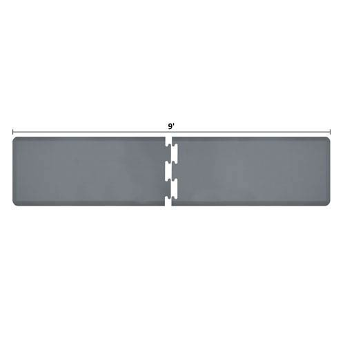 WellnessMats PuzzlePiece 2-Ft. R-Series Grey 9 Premium Anti-Fatigue Mat