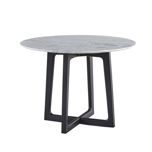 Clara Round Dining Table with Marble Top