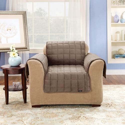 Sure Fit Sable Deluxe Chair Pet Throw Cover