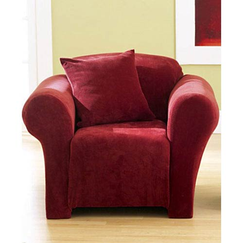 Garnet Stretch Pique Chair Slipcover