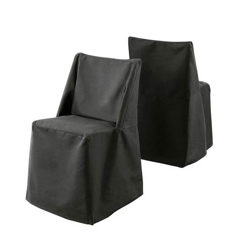 Prime Sure Fit Black Cotton Duck Folding Dining Chair Slipcover Cjindustries Chair Design For Home Cjindustriesco