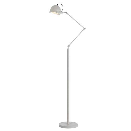 Angelo Home White One Light Floor Lamp