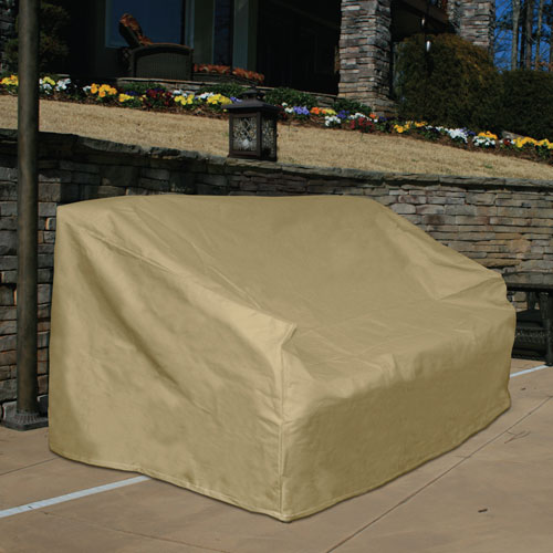 Sure Fit Hearth And Garden Taupe Sofa/Large Sofa Covers