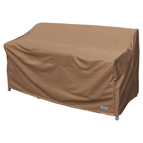 Earth Brown Patio Armor Loveseat/ Bench Cover
