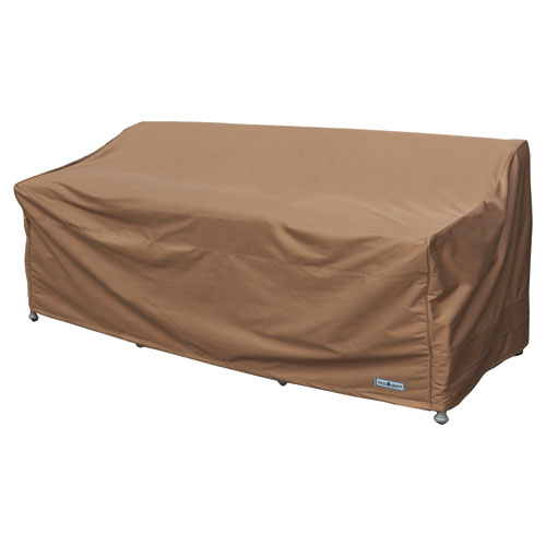 Earth Brown Patio Armor Sofa/ Bench Cover