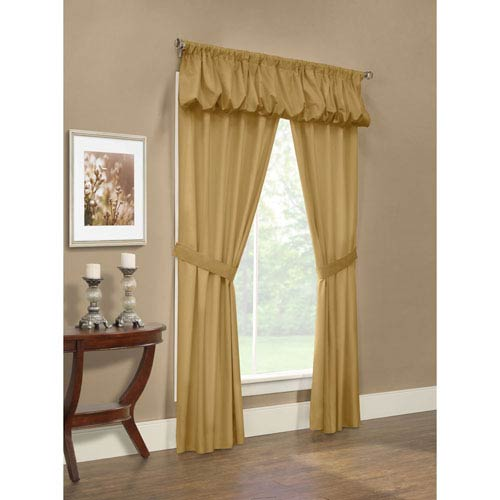 Thermalogic Prescott Camel Five-Piece Window Set