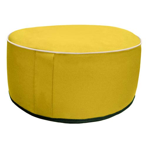 Splash N Dash Yellow Inflatable Pouf