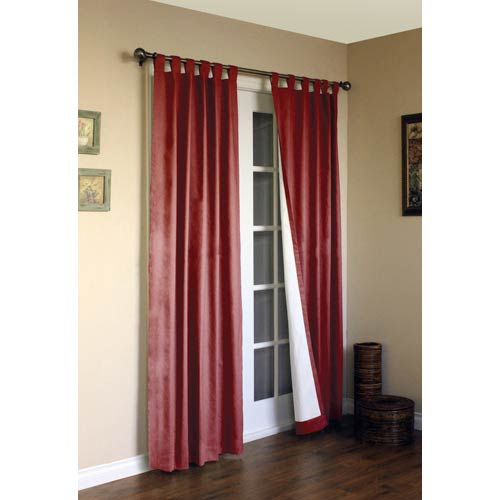 Commonwealth Home Fashions Thermalogic™ Burgundy 80 x 72-Inch Weathermate Tab Panel Pair