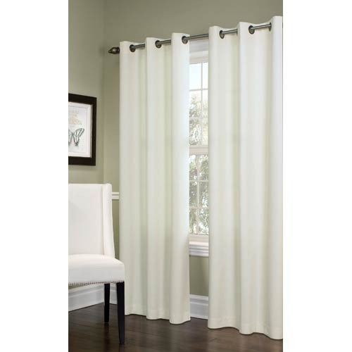 Commonwealth Home Fashions Thermalogic™ Natural 40 x 84-Inch Prelude Grommet Top Single Panel