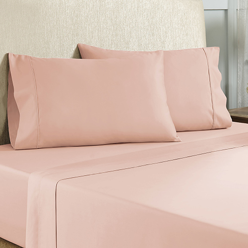 Rose 4 Piece King Cotton Rich Sheet Set