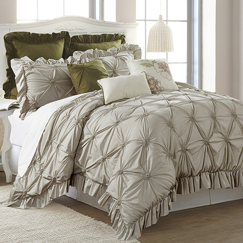 Allure Caroline 8 Piece Queen Comforter Set