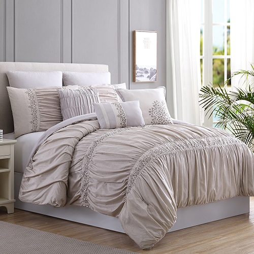 Allure Rialto 8 Piece Queen Comforter Set
