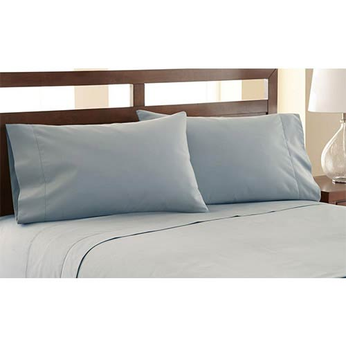 Pacific Coast Textiles Symphony Slate Four Piece 1200 Thread Count Queen Sheet Set
