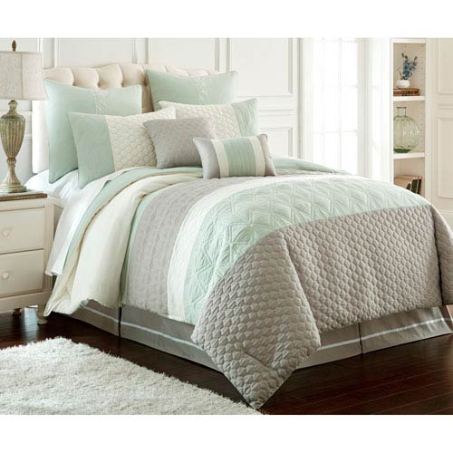 Pacific Coast Textiles Palisades 8-Piece King Comforter Set