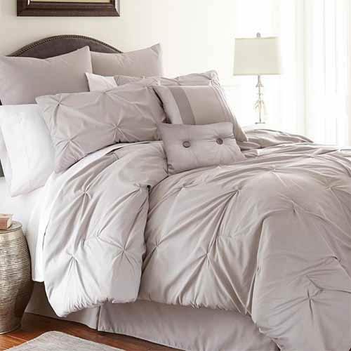 Pacific Coast Textiles Ella Sand Eight-Piece Queen Comforter Set