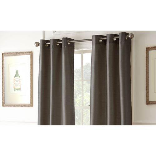 Shawn Chocolate 84 x 37-Inch Blackout Curtain Panel Pair