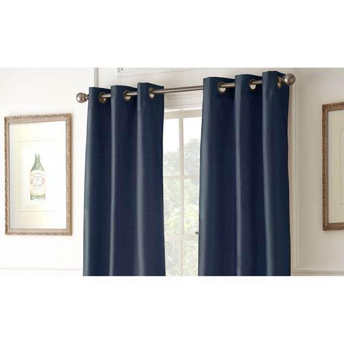 Shawn Indigo 84 x 37-Inch Blackout Curtain Panel Pair
