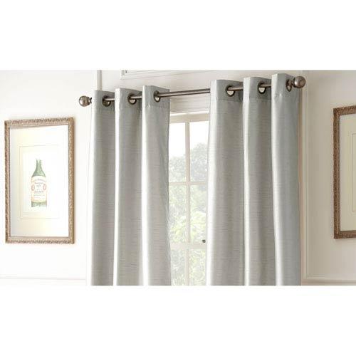 Shawn Silver 84 x 37-Inch Blackout Curtain Panel Pair
