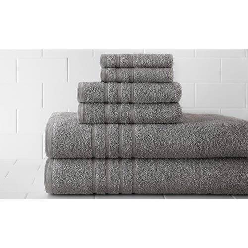 Spa Taupe Luxurious Six-Piece Towel Set