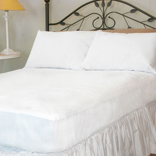 Aller-Free White Twin Mattress Pad