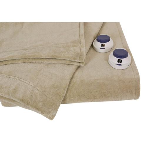 Luxe Plush Pearl Twin Warming Blanket