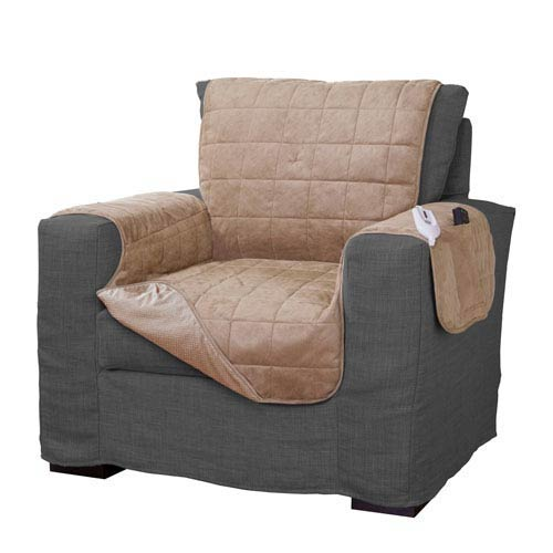 Tan Warming Chair Protector